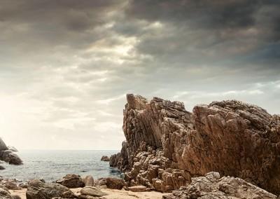ابر-سنگ و دریا